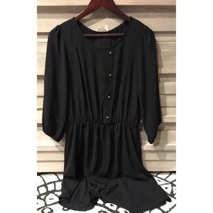 Everly black dress (M) NWT